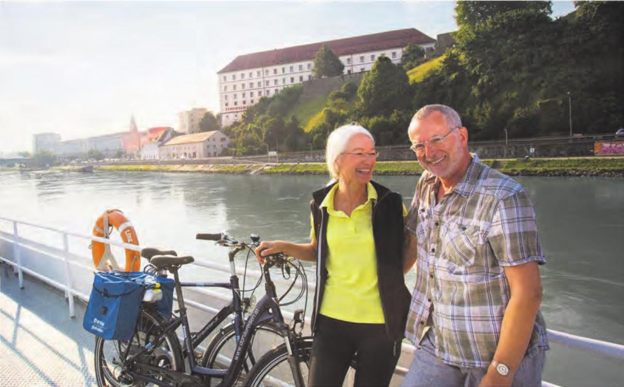 In Linz an der Donau trifft Kultur auf Lebensfreude.Foto: Linztourismus/Kest