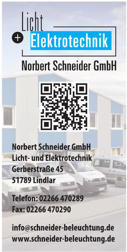 Norbert Schneider GmbH Licht- und Elektrotecchnik