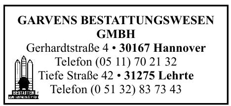 Garvens Bestattungswesen GmbH
