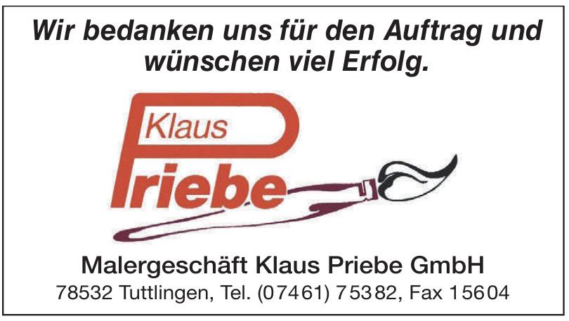 Malergeschäft Klaus Priebe GmbH