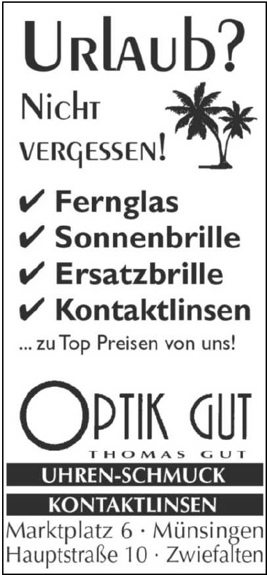 Optik Thomas Gut