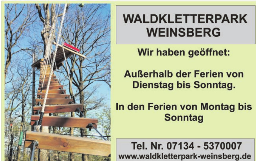 Waldkletterpark Weinsberg