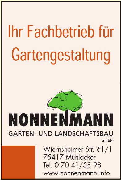 Nonnenmann Garten- und Landschaftsbau GmbH