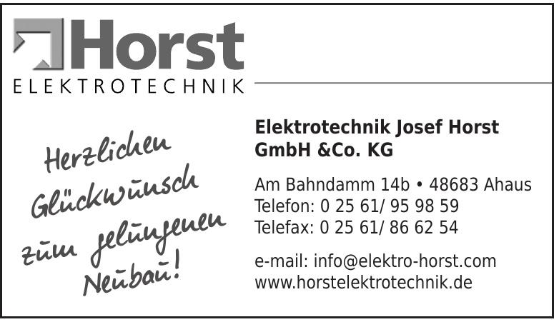 Elektrotechnik Josef Horst GmbH & Co. KG