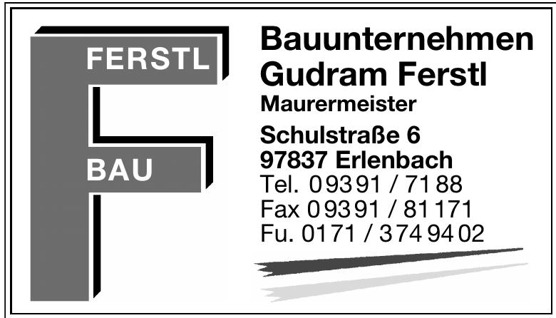 Bauunternehmen Gudram Ferstl