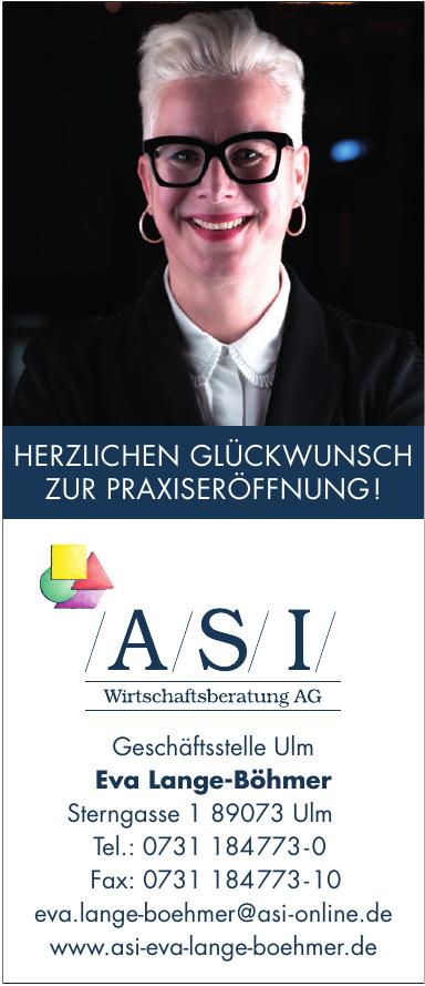 ASI Wirtschaftsberatung AG