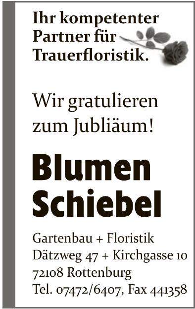 Blumen Schiebel Gartenbau + Floristik