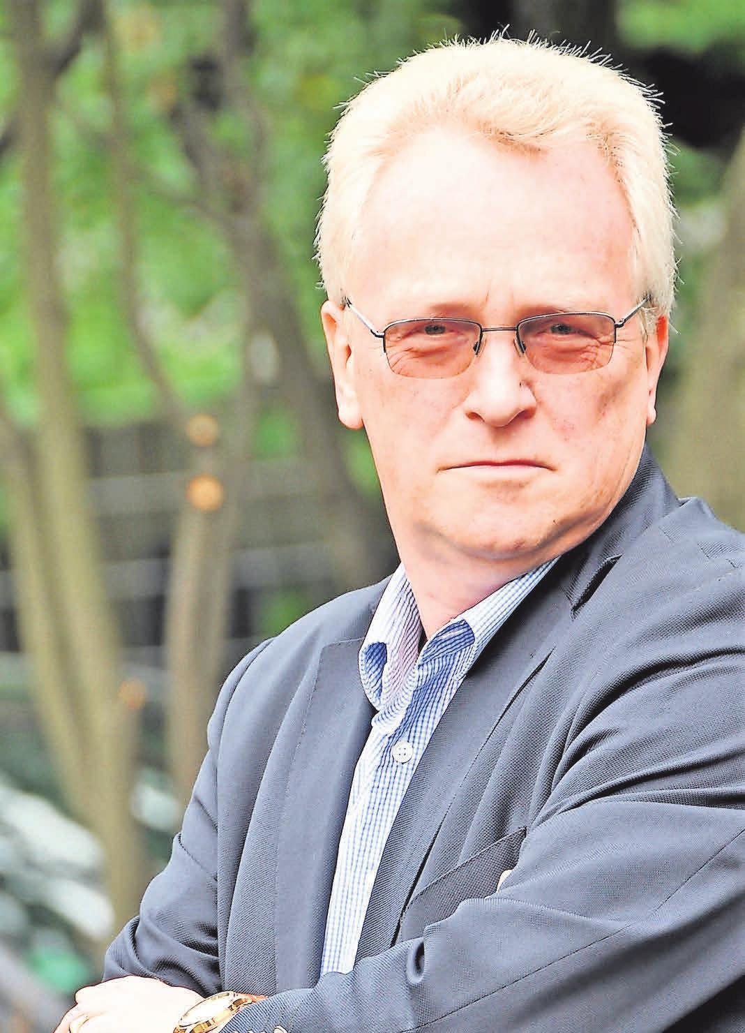 Peter Busche, Vorsitzender der GKK.