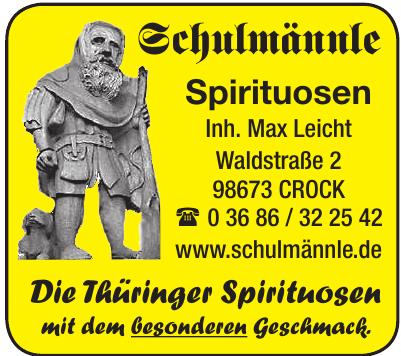 Schulmännle-Spirituosen