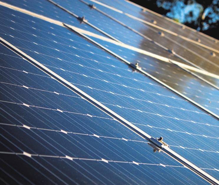 Nutzung von Solarenergie wird immer mehr zum Thema.