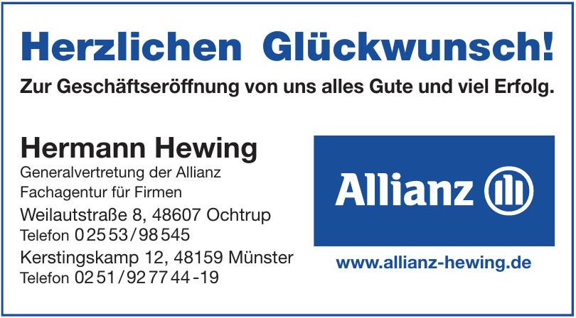 Hermann Hewing Generalvertretung der Allianz