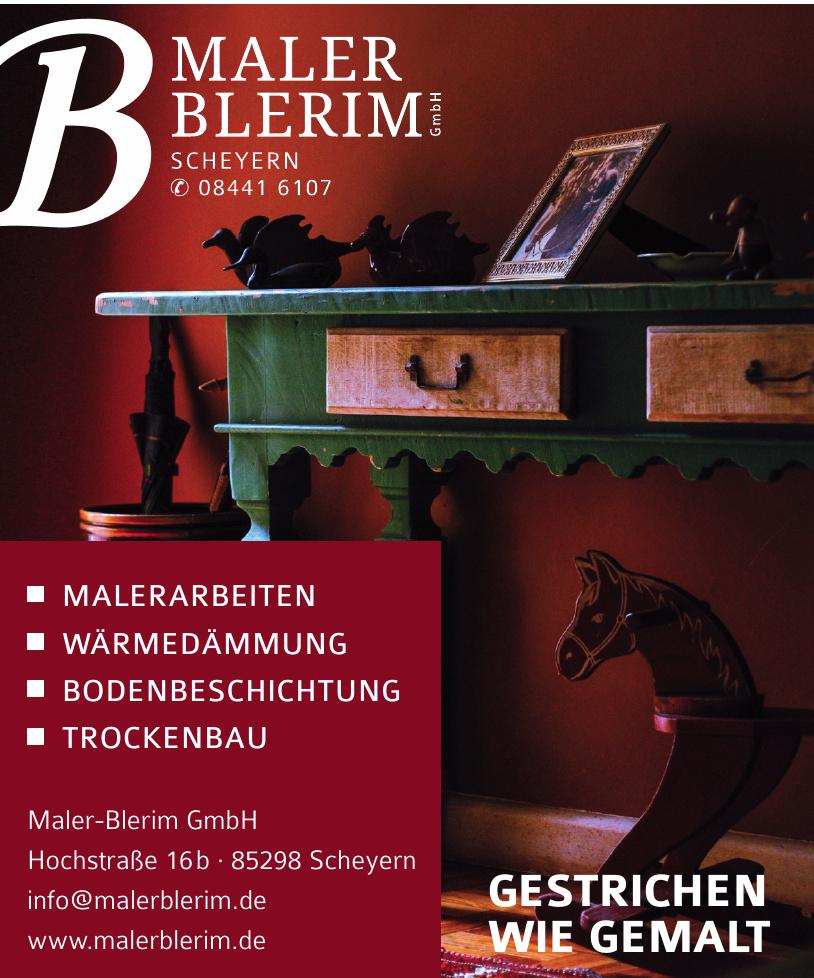 Maler-Blerim GmbH