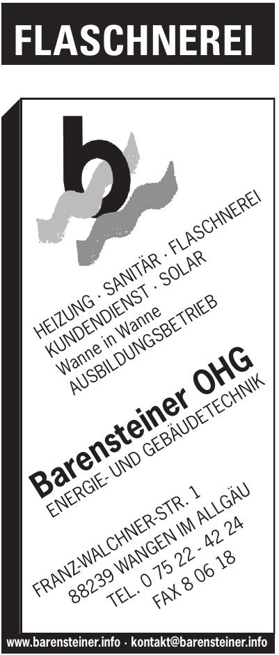 Barensteiner Energie- und Gebäudetechnik OHG