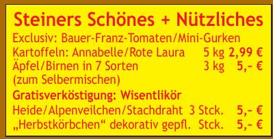 Steiners Schönes + Nützliches