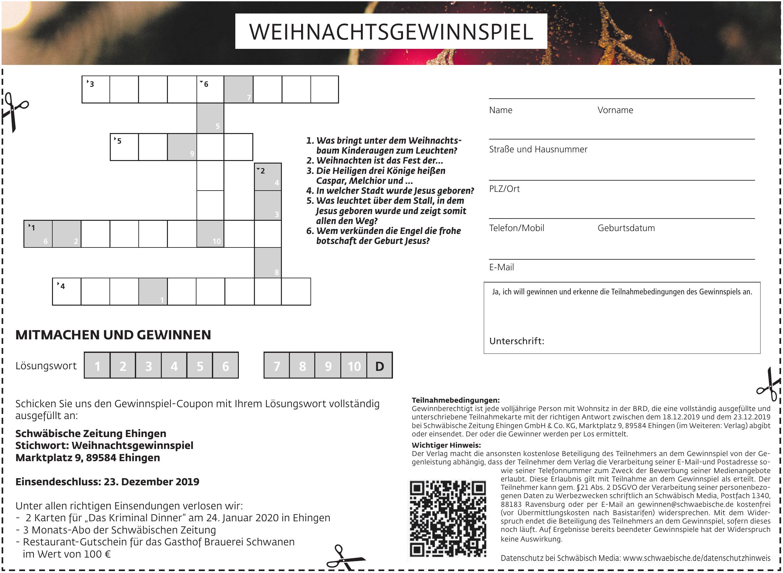 Schwäbische Zeitung Ehingen