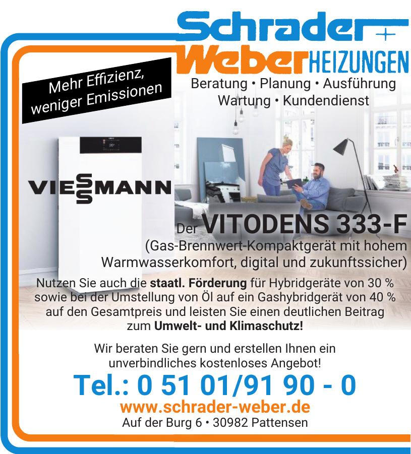 Schrader + Weber Heizungen Heizungs- und Lüftungsbau GmbH