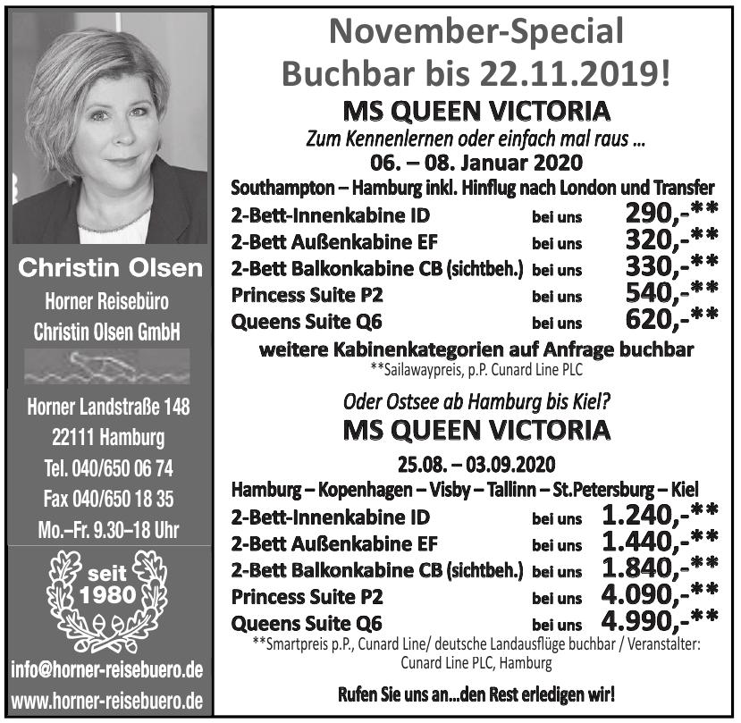 Horner Reisebüro Christin Olsen GmbH