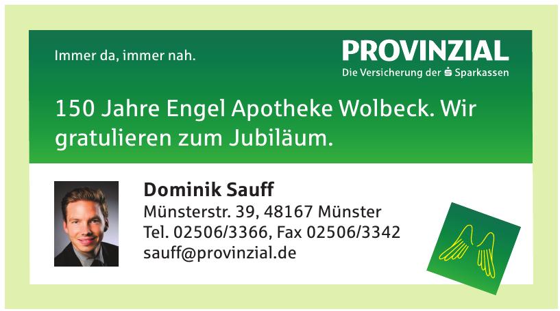 Provinzial Dominik Sauff