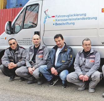 Erbil Taskan (links) und sein Team bieten besten Service zu fairen PreisenFoto: Taskan
