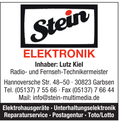 Stein Elektronik - Lutz Kiel