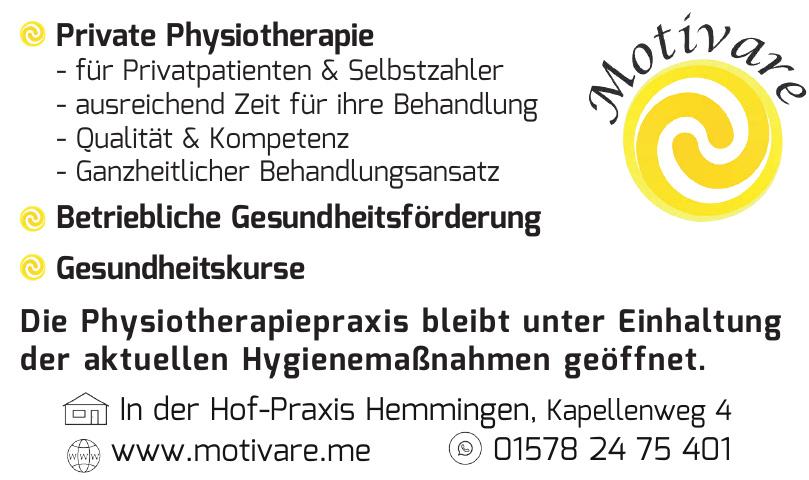 Motivare - Hof-Praxis Hemmingen