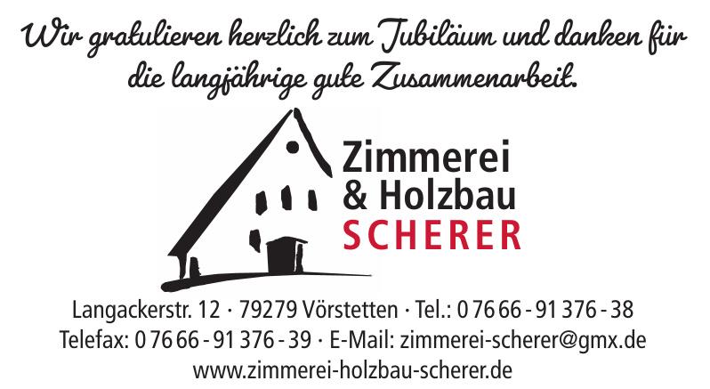 Zimmerei & Holzbau Scherer