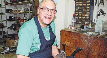 Seit 41 Jahren mit Leib und Seele bei der Arbeit: Antonio Sturzo.