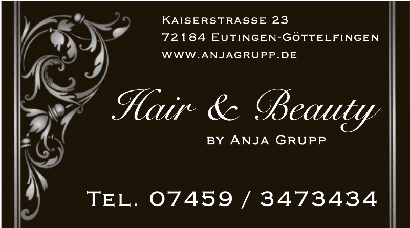 Hair & Beauty by Anja Grupp