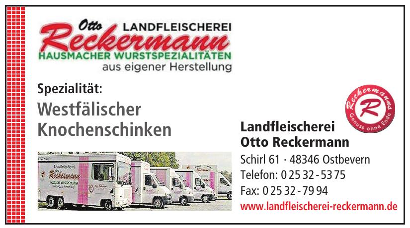Landfleischerei Otto Reckermann