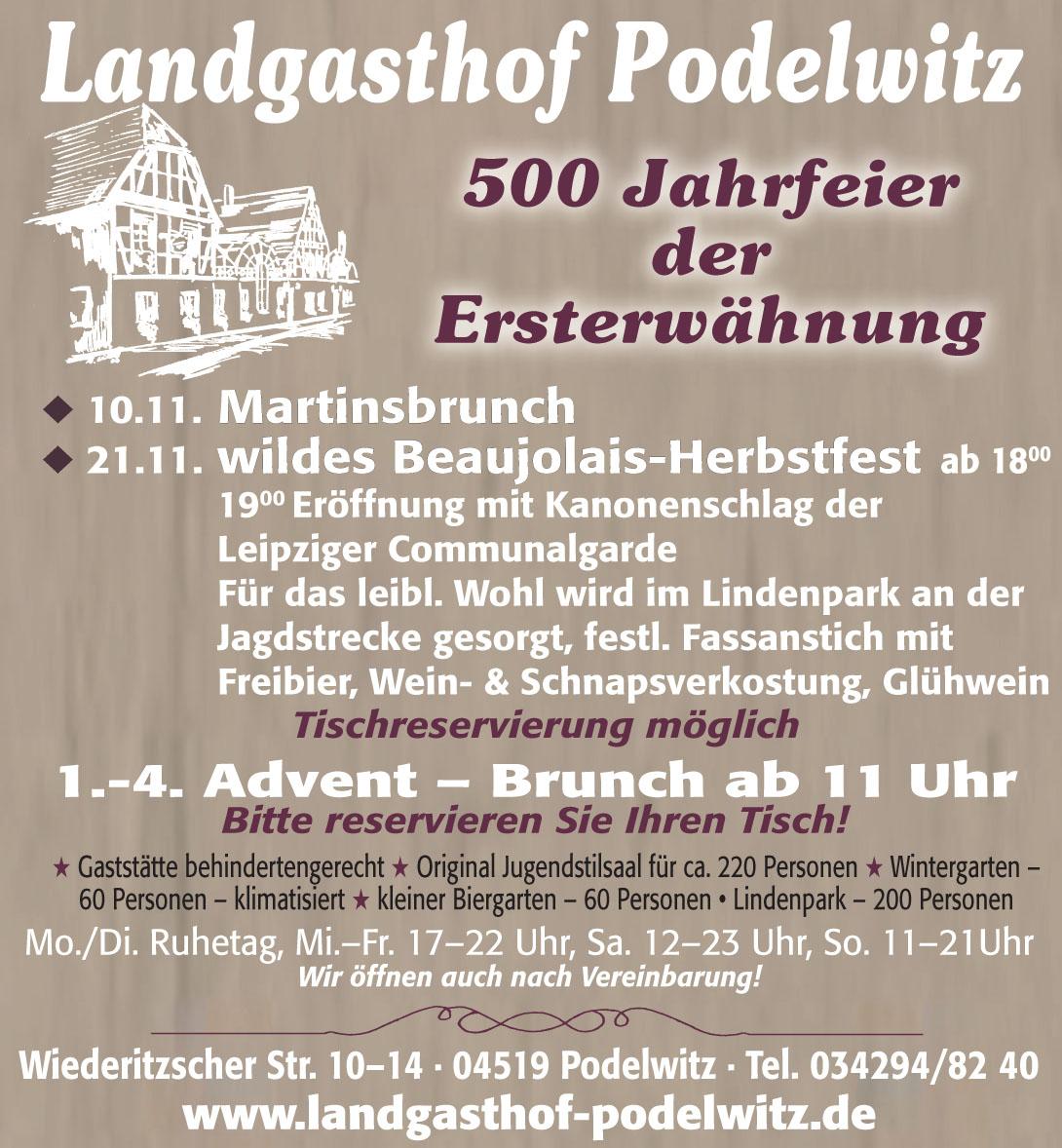 Landgasthof Podelwitz