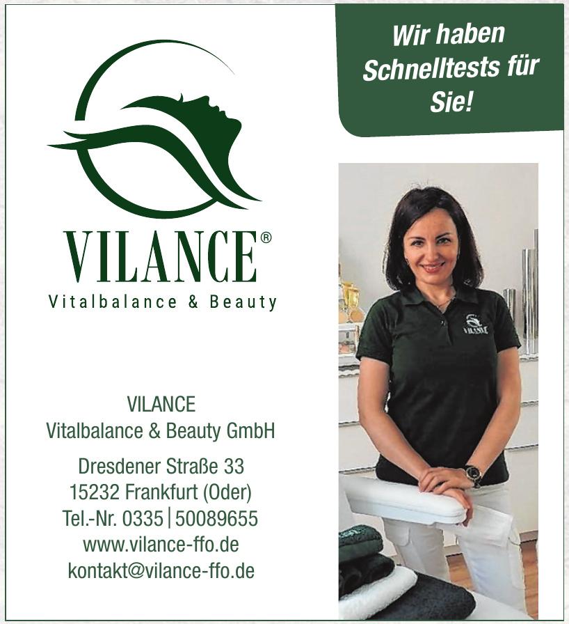 VILANCE Vitalbalance & Beauty GmbH