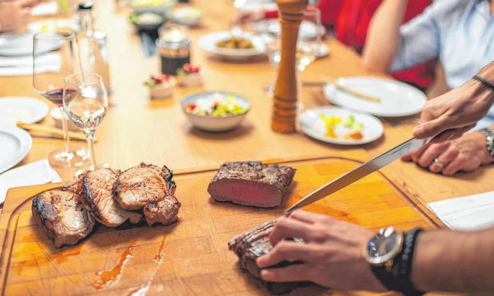 Eine Harmonie aus Speisen und Getränken. FOTO: PRIVAT