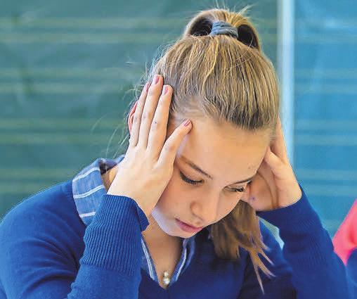 Der Druck führt bei manchen Schülern zu Stress. Foto: djd/Studienkreis/Michael Printz