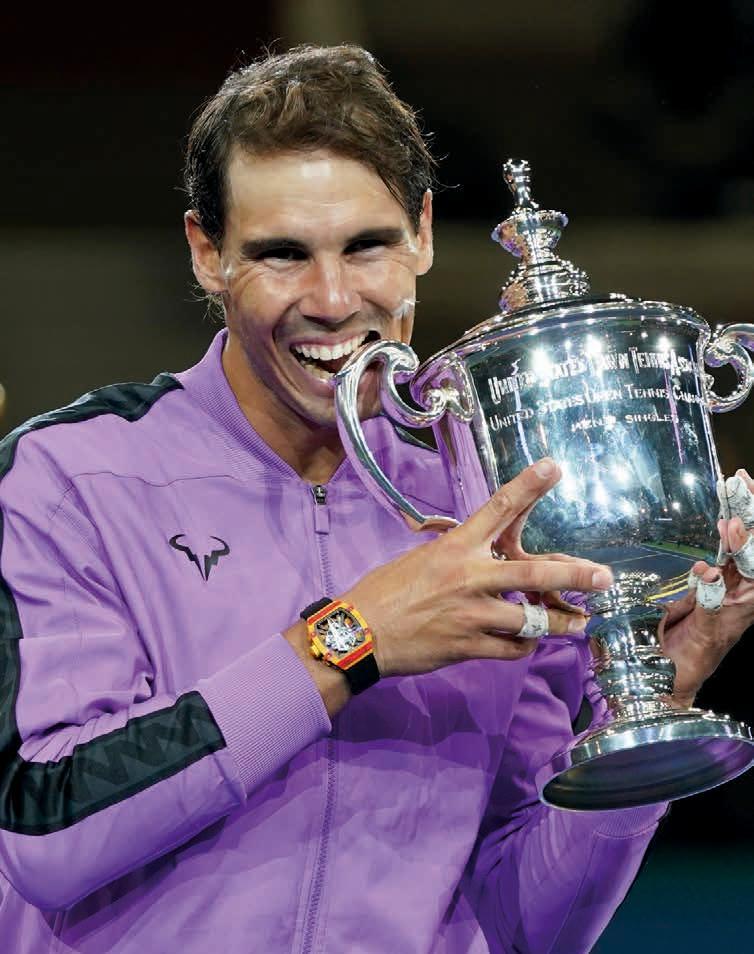Rafael Nadal, Grand Slam Titel Nr. 19. Noch einen, und er zieht mit Roger Federer gleich. Wer hätte das vor kurzem noch gedacht?Foto Jürgen Hasenkopf
