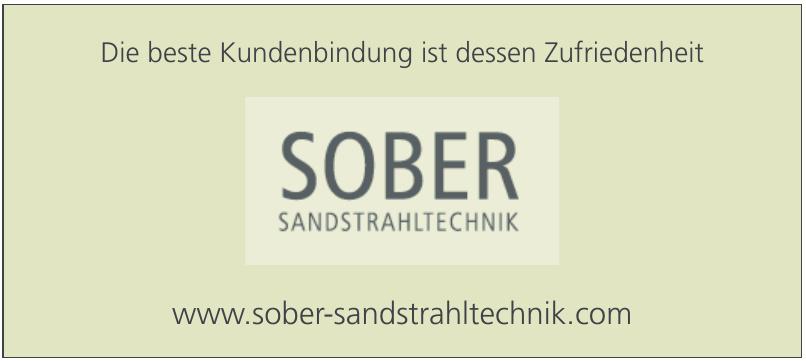 Sober Sandstrahltechnik