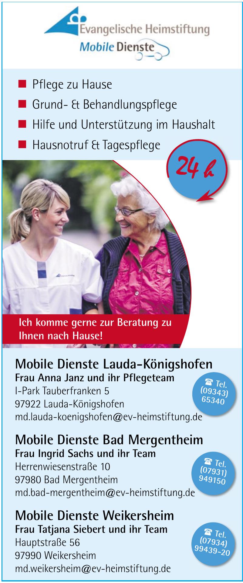 Mobile Dienste Lauda-Königshofen