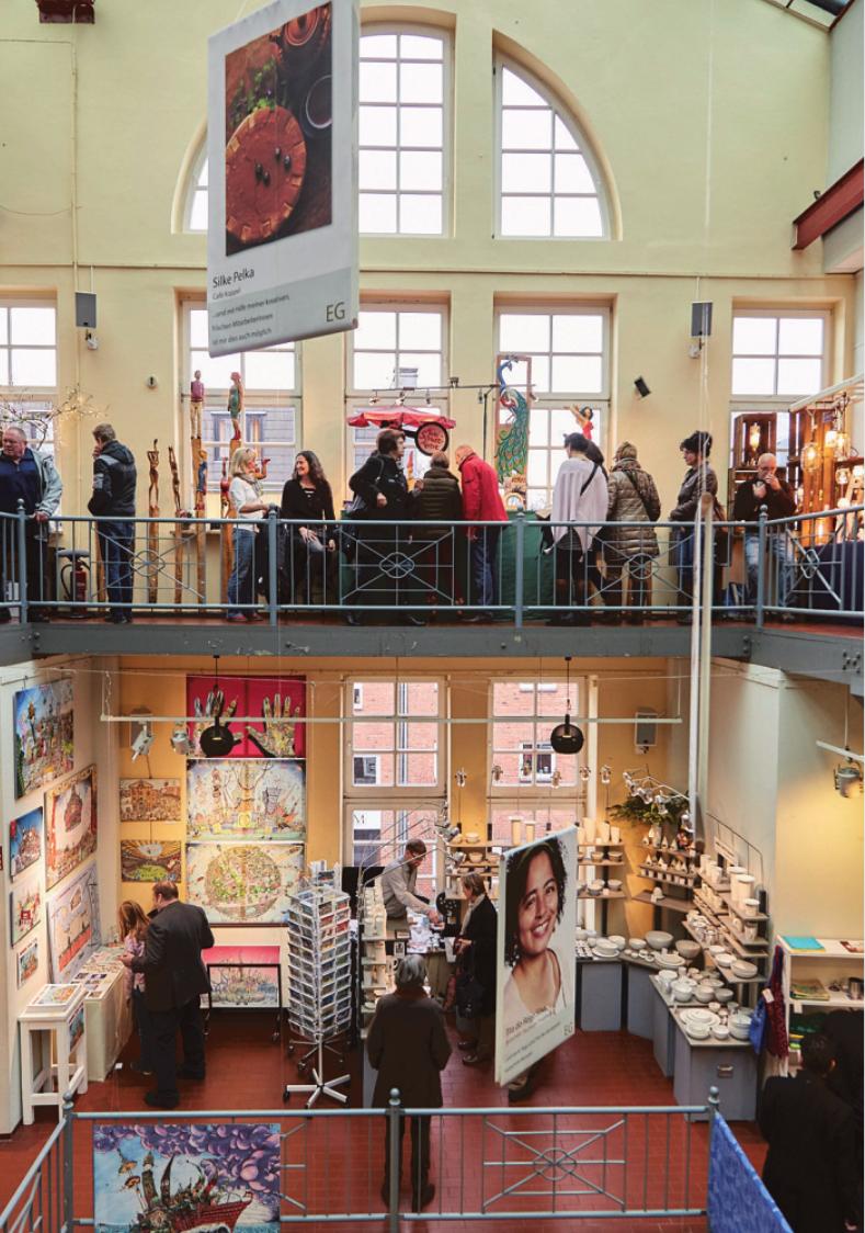 Gut besucht auch im Vorjahr: die Adventsmesse in der Koppel 66.Foto: koppel.de