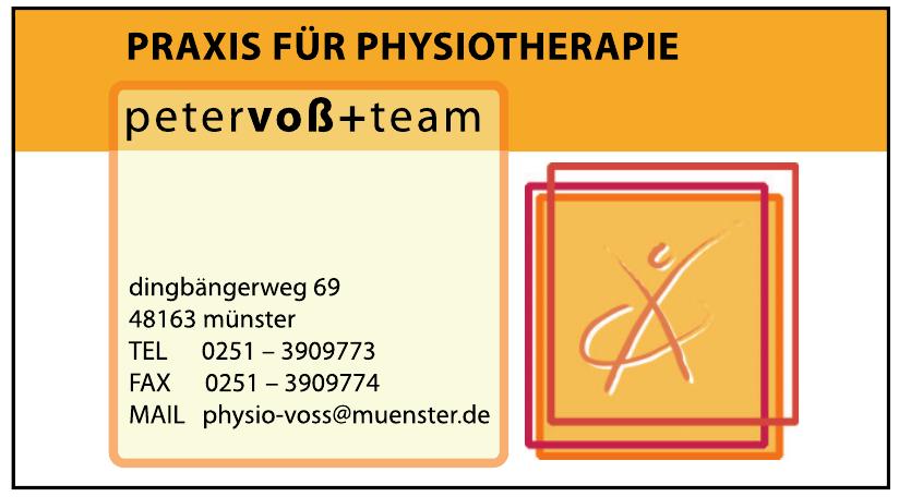 Praxis für Physiotherapie Peter Voß+ Team