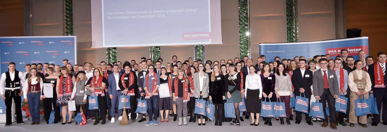 Die nächste Generation – unter diesem Titel fand der diesjährige Leistungswettbewerb des Deutschen Handwerks statt. Bilder: ZDH / Bildschön