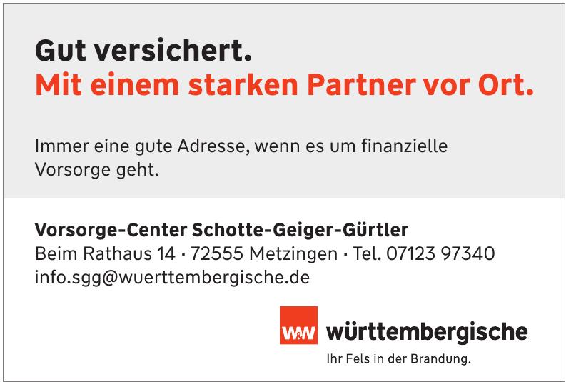 Vorsorge-Center Schotte-Geiger-Gürtler