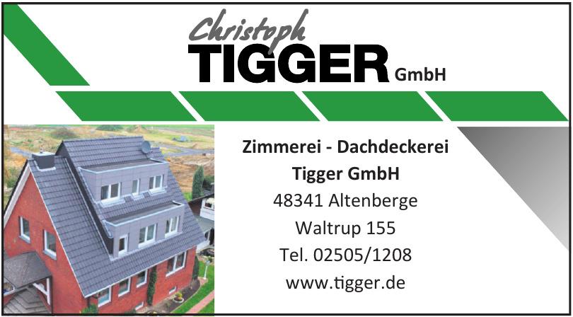 Zimmerei und Dachdeckerei Christoph Tigger