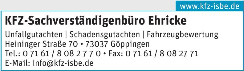 KFZ-Sachverständigenbüro Ehricke