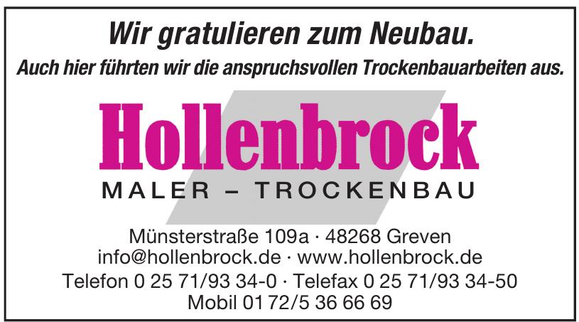 Hollenbrock Maler - Trockenbau