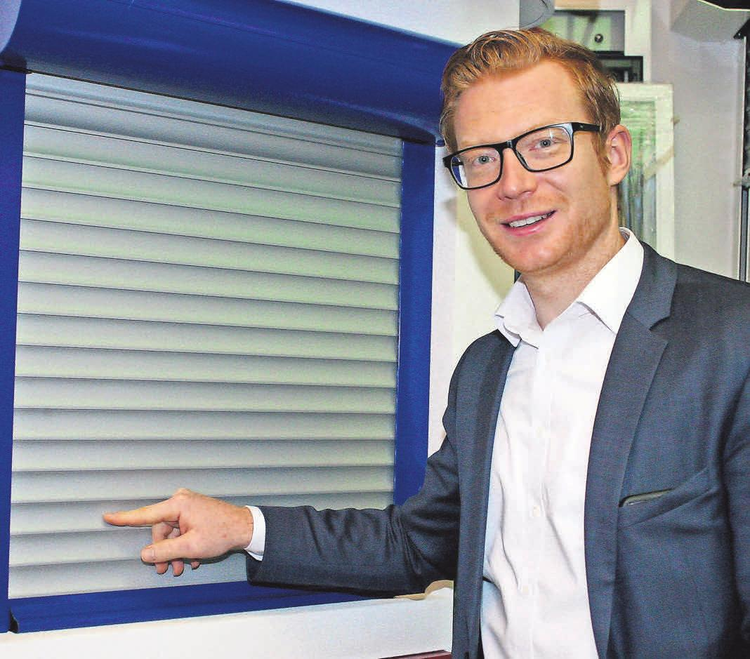Jan-Frederik Fiergolla freut sich über die Synergieeffekte der neuen Kooperation. Foto: tha