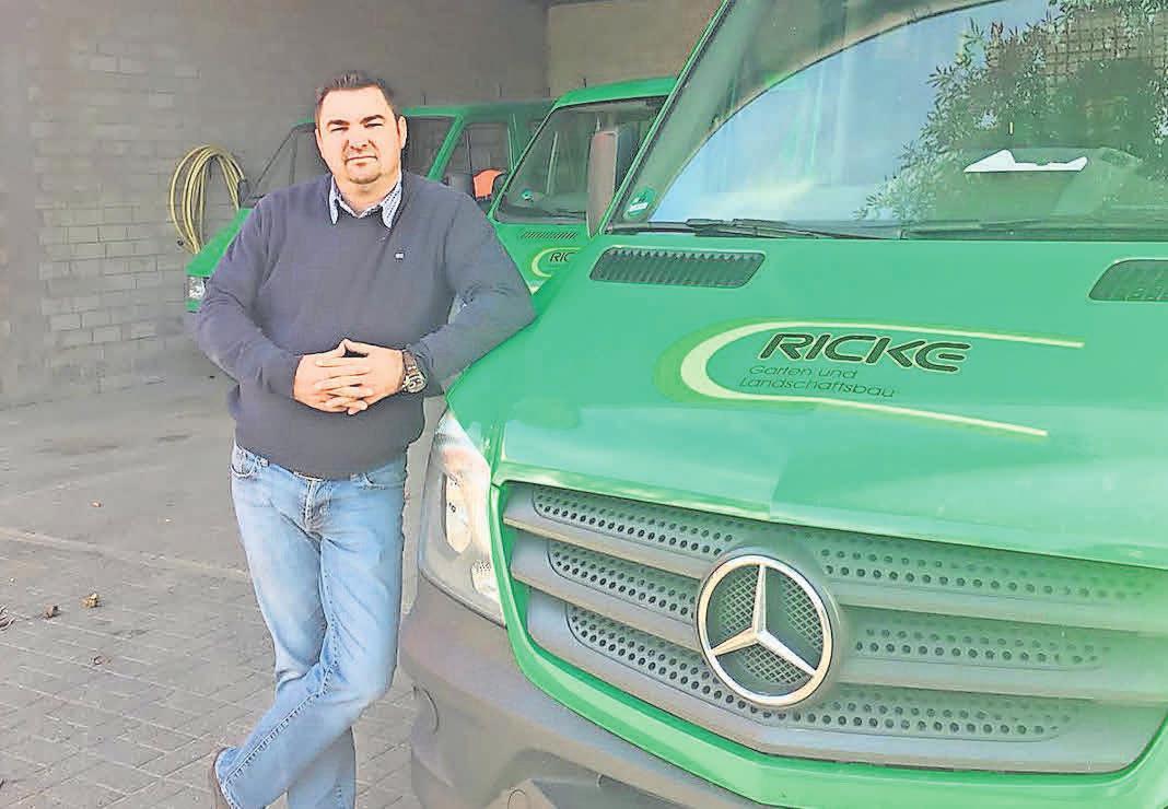 Marcel Brümann hilft bei der Umsetzung der Gartenträume.