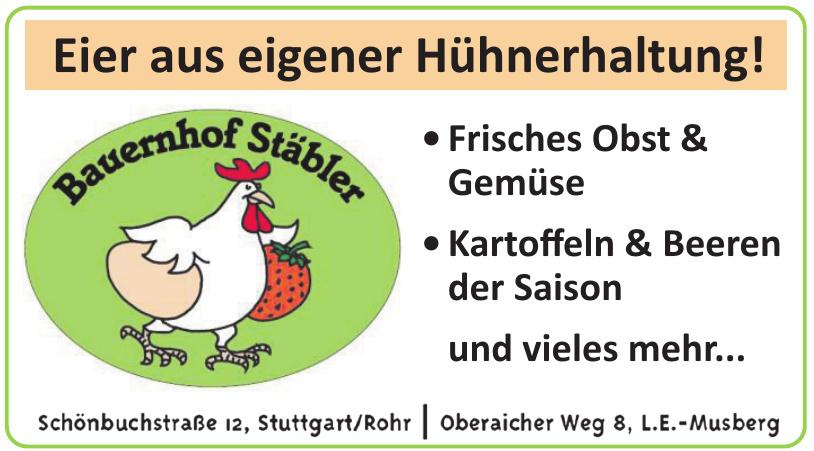 Bauernhof Stäbler