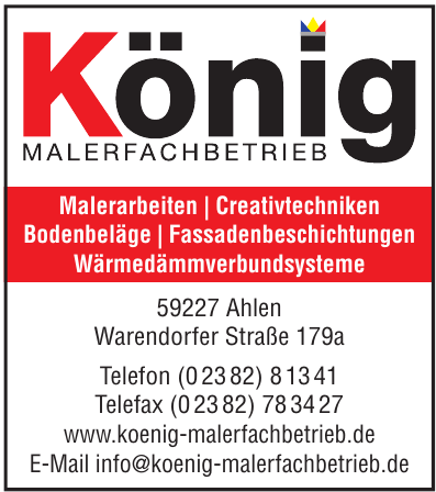 König Malerfachbetrieb GmbH & Co. KG