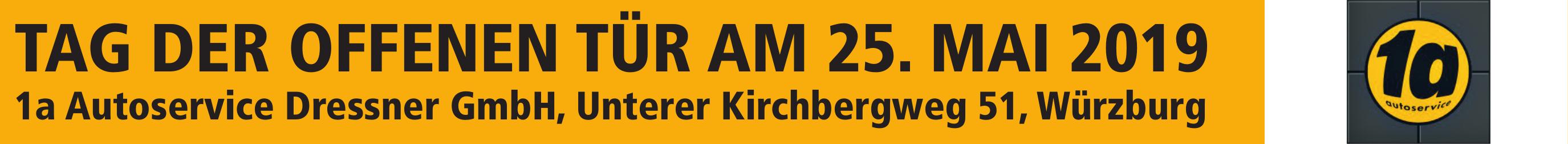 1a Autoservice Dressner GmbH, Unterer Kirchbergweg 51, Würzburg Image 1