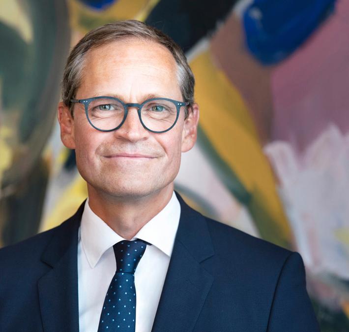 Michael Müller Regierender Bürgermeister von Berlin und Senator für Wissenschaft und Forschung.