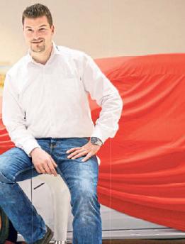 Karl Seidel von der MGS Motor Gruppe Sachsen.